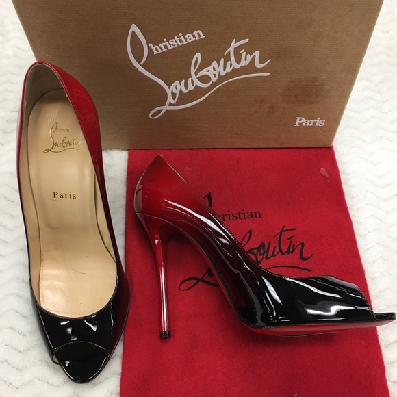 new concept 1fd50 05361 Christian Louboutin Yootish 100 Patent Degrade